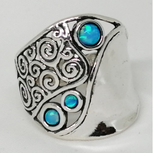 Inel argint opal imperial R7898