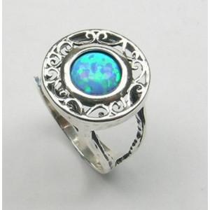 Inel argint opal -R4219