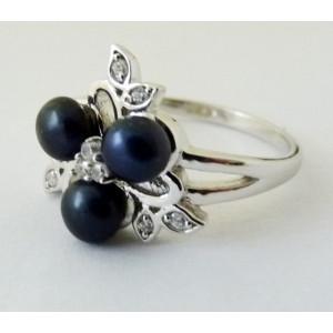 Inel argint perle -VR014563