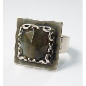 Inel argint R892 - labradorit