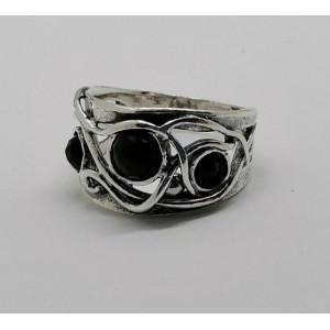 Inel argint R939 -onix