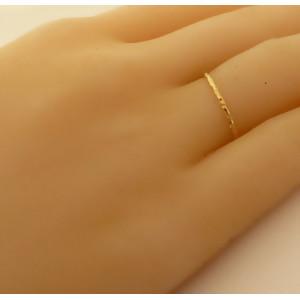 Inel delicat argint placat cu aur roz - ANDM1118PLROS