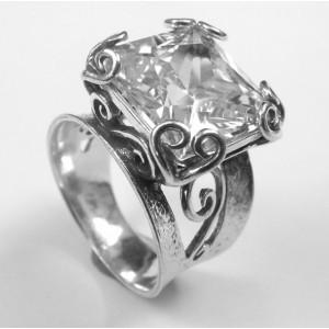 Inel din argint -zircon-R5799