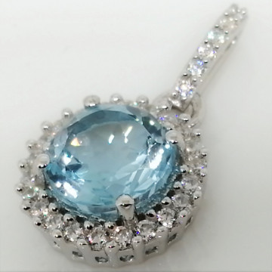 Pandantiv argint -VP08186 topaz