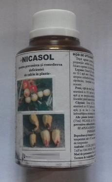 Poze NICASOL - ingrasamant foliar cu calciu, 320gr