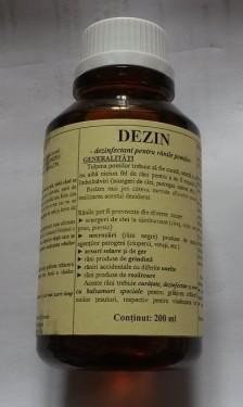 Poze DEZIN - dezinfectant pentru pomi si arbusti, 200ml
