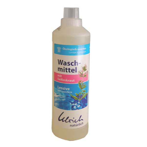 Detergent lichid de rufe, ecologic, cu săpunariță, Ulrich Naturlich thumbnail