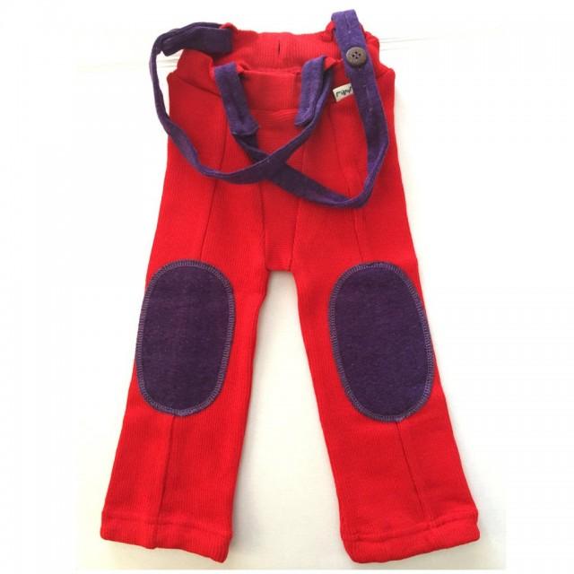 Pantaloni cu bretele din lână merinos Hazel , ManyMonths – diverse culori
