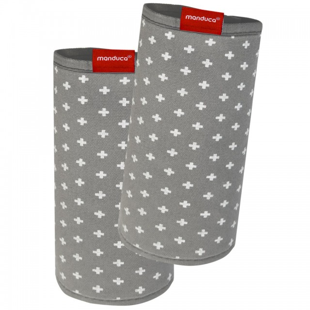 Protecții bretele - Manduca FumBee BellyButton WildCrosses Grey thumbnail