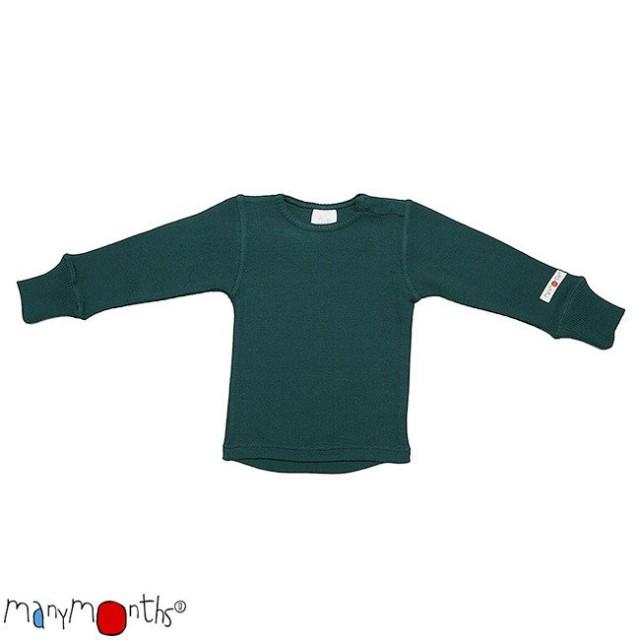 Bluza din lână merinos ManyMonths – diverse culori