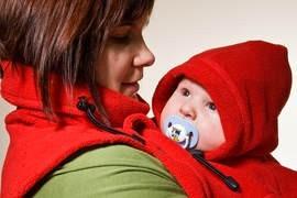 Pieptar pentru mama si bebe, Lennylamb, Rosu