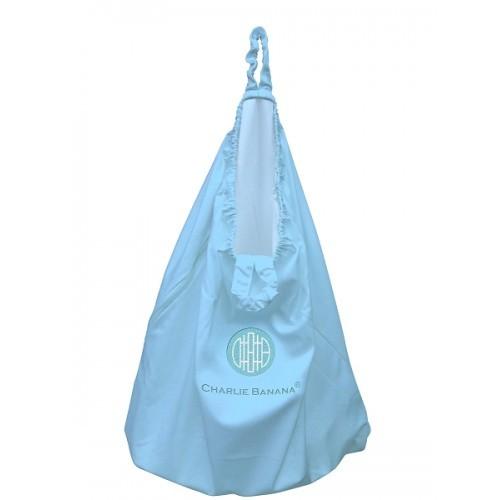 Sac Mare Pentru Scutecele Lavabile Wet Bag Charlie Banana  Baby Blue Albastru Deschis