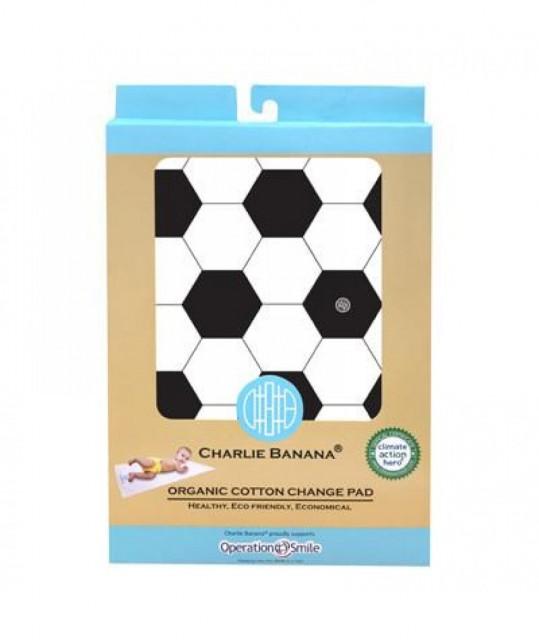 Saltea Din Bumbac Organic Pentru Schimbarea Scutecului Charlie Banana, Soccer thumbnail