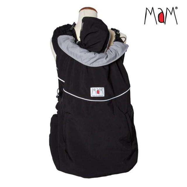 Protectie MaM Deluxe SoftShell FLeX- Black/Rock Grey + Cagula ajustabila thumbnail