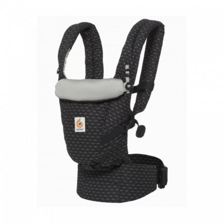 Poze ERGOBABY Carrier Original Adapt GEO BLACK  0 luni+