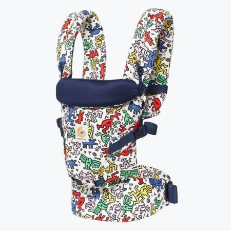 Poze ERGOBABY Carrier Original Adapt KEITH HARING POP  0 luni+ (editie speciala)