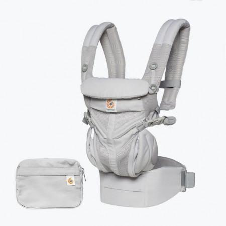 Marsupiu ergonomic, Ergobaby OMNI 360 COOL AIR MESH, PEARL GREY