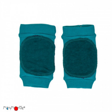 Poze Protectii genunchi ManyMonths Knee Tubes lână merinos - Royal Turquoise
