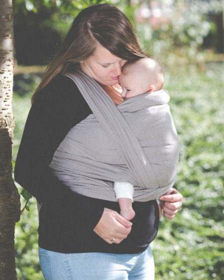 Poze Wrap tesut Pure Baby Love, Taupe