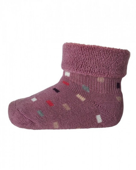 Poze Sosete groase mp Denmark din lână - Ankle Zakie Dark Rose Grey