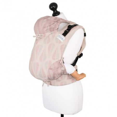 Poze Toddler Size: Fidella Fusion Full Wrap Conversion, Drops -pinkish sand(Transport Gratuit)