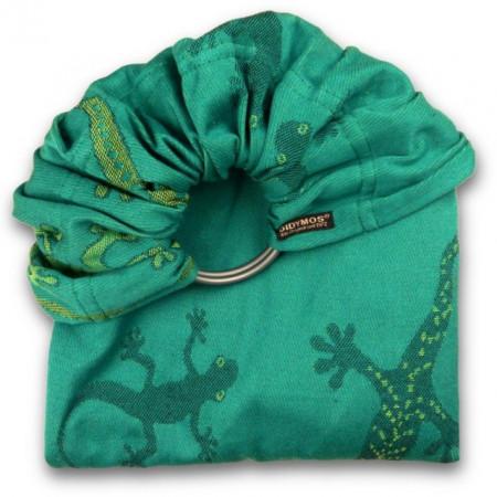 Didymos Sling cu inele Geckos Emerald