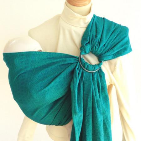 Didymos Sling cu inele Prima Emerald