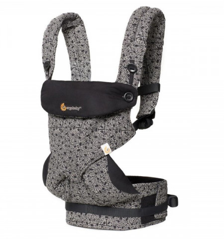 Poze Ergobaby Carrier 4 pozitii 360 - KEITH HARING BLACK