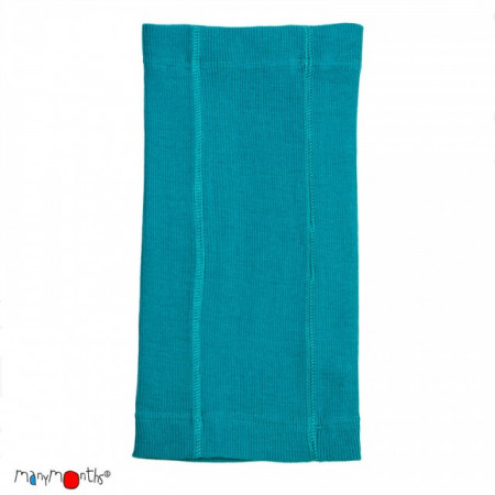 Poze Esarfa ManyMonths Kid MultiTube lână merinos - Royal Turquoise