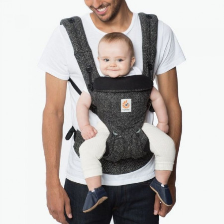 Poze Marsupiu Ergobaby Omni 360 HERRINGBONE ALL IN ONE