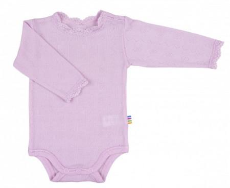 Body Joha lână merinos si mătase - Basic Pink