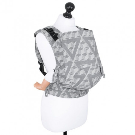 Poze Toddler Size: Fidella Fusion Full Wrap Conversion, Tri-Cubes -washed rock(Transport Gratuit)