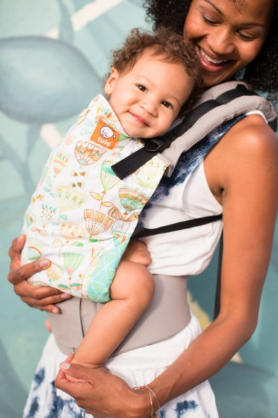 Poze Tula Baby Carrier - Dew Drop