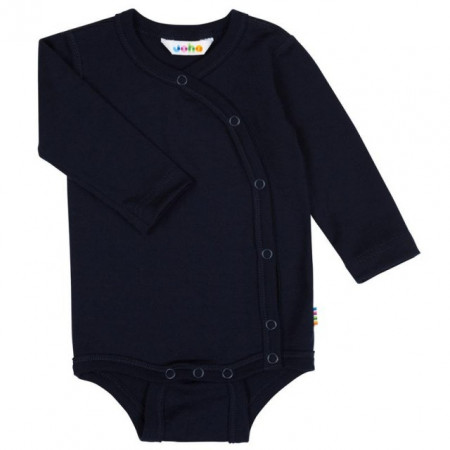 Body kimono Joha lână merinos - Heavy Single Wool Navy, marimea 60