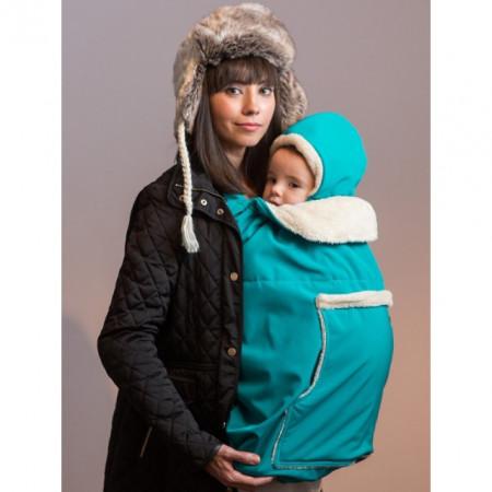 Protectie de iarna Isara + Gluga - Deep Ocean Turquoise