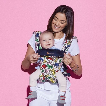 Poze Ergobaby Carrier 4 pozitii 360 - KEITH HARING POP