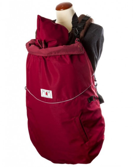 Protectie (3 in 1) MaM All-Season Combo FLeX - Rosewood Red + Cagula ajustabila