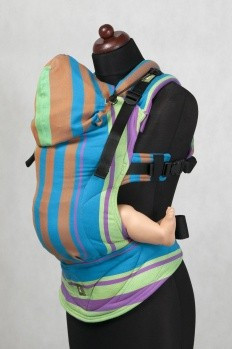 Poze Lenny Lamb Baby Size, Full Wrap Conversion -  Zumba Blue (Second Generation)