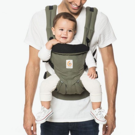 Poze Marsupiu Ergobaby Omni 360 All in One Khaki Green