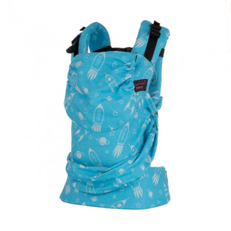 Marsupiu SSC Emeibaby, Baby Size -  - Limited Edition - Rockets Turquoise