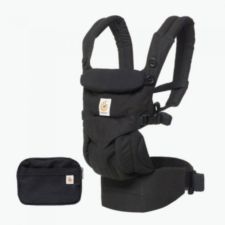 Poze Marsupiu Ergobaby Omni 360 ALL IN ONE PURE BLACK
