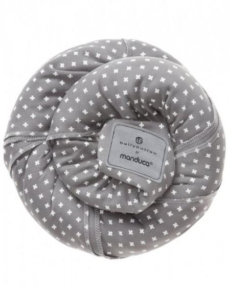 Wrap elastic Manduca, BellyButton WildCrosses Grey
