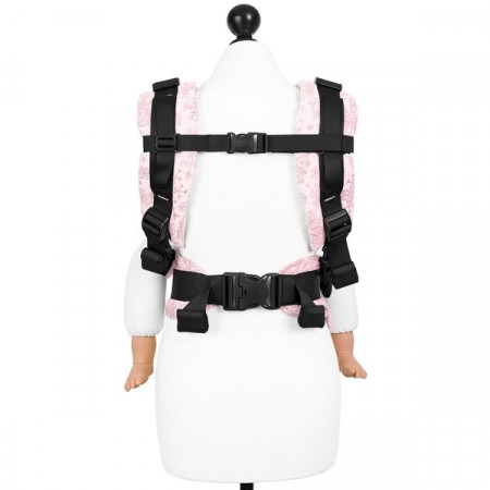 Poze Toddler Size: Fidella Fusion 2.0 Full Wrap Conversion; ICED BUTTERFLY - PALE PINK