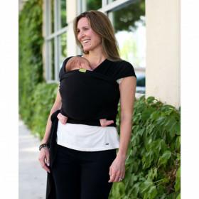 Marsupiu ergonomic, Wrap elastic Boba - Black