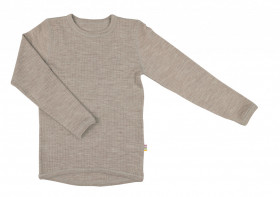 Bluză Joha lână merinos - Basic Sesame Melange