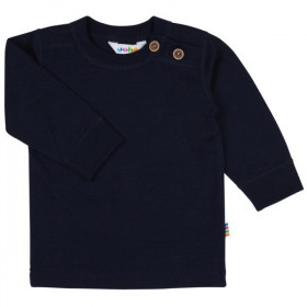 Bluza Joha lână merinos - Heavy Single Wool Navy