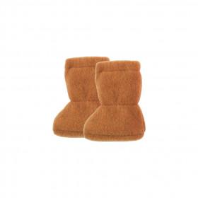 Botosei din lână merinos fleece Pure Pure - Caramel