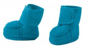 Botosei Disana lână organica boiled wool (lana fiarta) - Blue