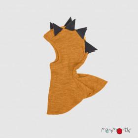 Cagulă ManyMonths Dino lână merinos - Honey Bread