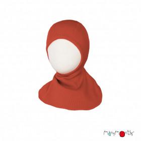 Cagula ManyMonths lână merinos - Rooibos Red
